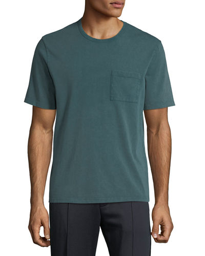 Men's Garment-Dyed Pocket T-Shirt