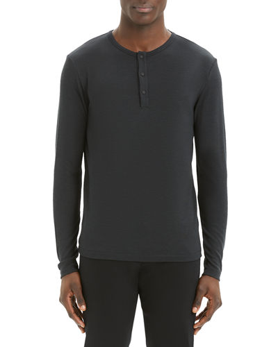 Men's Anemo Snap Henley T-Shirt