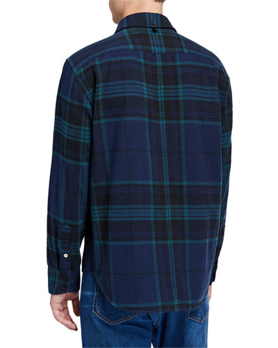 Men's Fit 2 Tomlin Plaid Sport Shirt