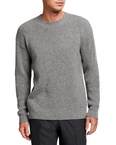 Men's Connor Cashmere Crewneck Sweater