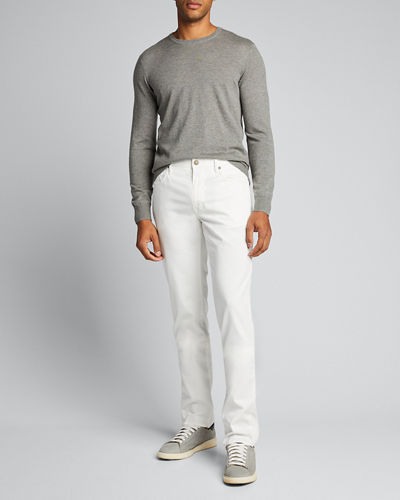 Men's 5-Pocket Straight-Leg Pants