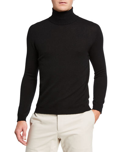 Men's Air Cashmere Turtleneck Sweater
