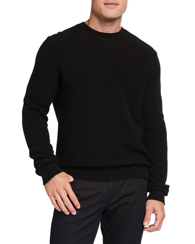 Men's Crewneck Cashmere Sweater