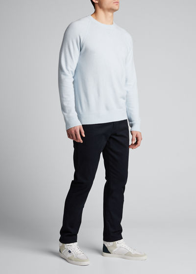 Men's Cashmere Raglan Pullover Sweater