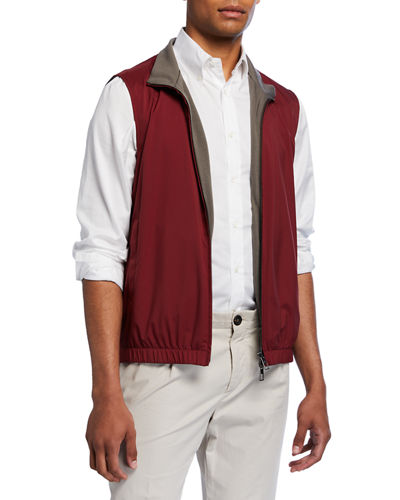 Men's Windmate Reversible Zip-Front Vest