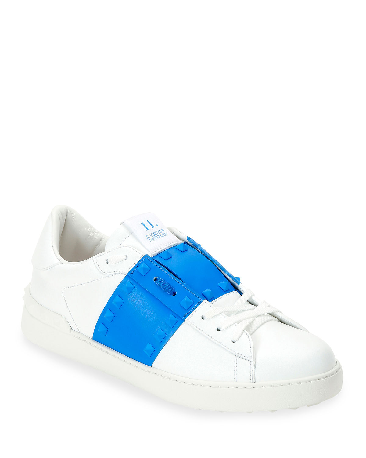 Valentino Sneakers MEN'S ROCKSTUD UNTITLED LEATHER SNEAKERS