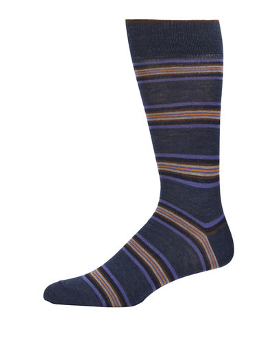 Men's Striped Wool Socks