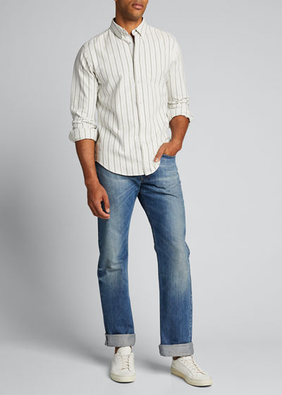 Men's Tomlin Striped Oxford Sport Shirt