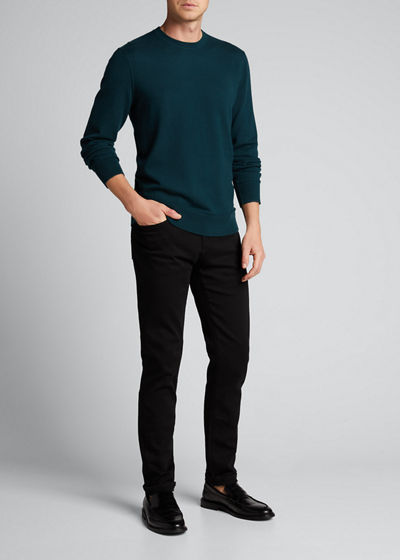 Men's Hilles Cashmere Crewneck Sweater