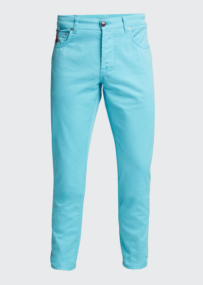 Men's 5-Pocket Stretch-Twill Pants