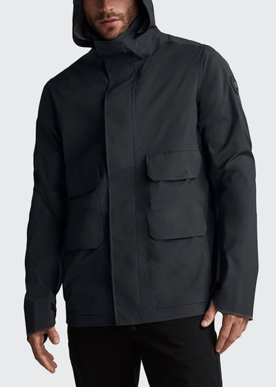 Men's Meaford Weather-Resistant Hooded Jacket