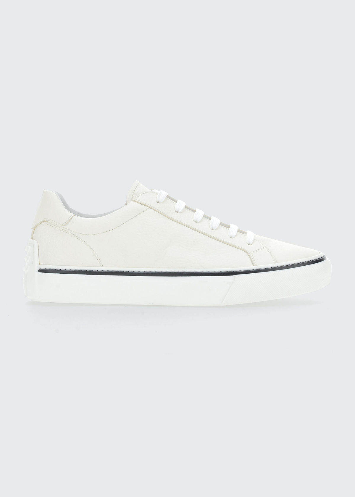 Tod's MEN'S CASETTA LEATHER LOW-TOP SNEAKERS
