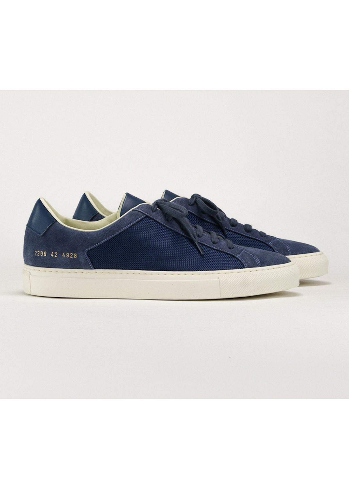 Common Projects MEN'S RETRO SUMMER EDITION MIX-LEATHER LOW-TOP SNEAKERS