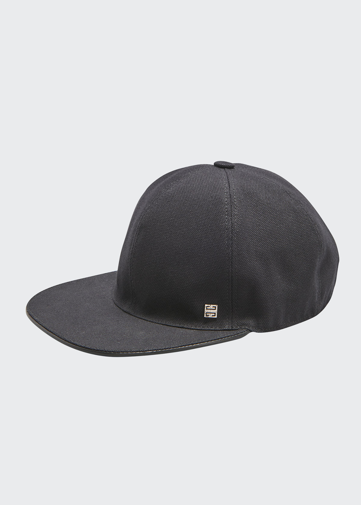Givenchy MEN'S FLAT BASEBALL CAP WITH LOCK