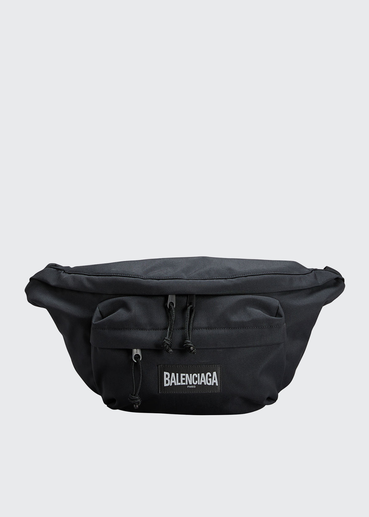 Balenciaga MEN'S OVERSIZED NYLON BELT BAG