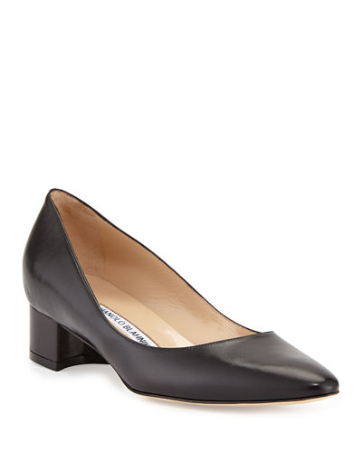 Listony Leather Low-Heel Pump