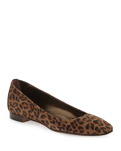 Lee Tapered-Toe Suede Flat