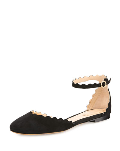 Limited New Chloé Lauren Ankle Strap Flats Cheap Websites Purchase Your Favorite  Cheap How Much HeltzHCH