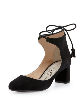 Valentina Carrano Suede High Heel Sandals
