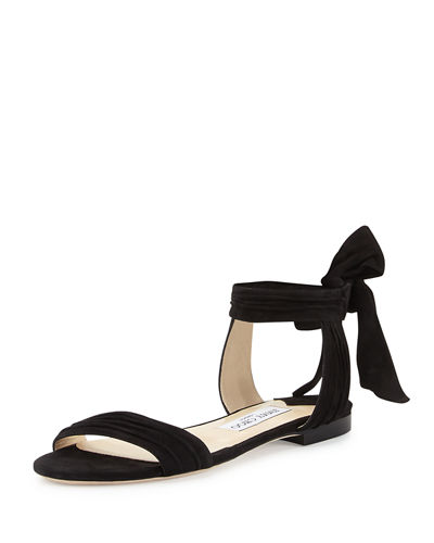 Jimmy Choo Suede Ankle-Strap Sandals Wide Range Of Sale Online Shop Sale Online Low Price 4HnP9fwV