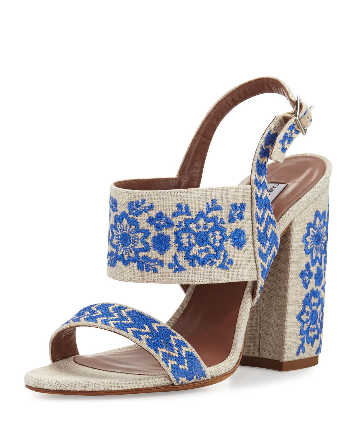 Senna Festival Embroidered Sandal