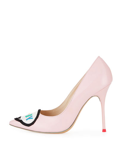 Boss Lady Leather 100mm Pump