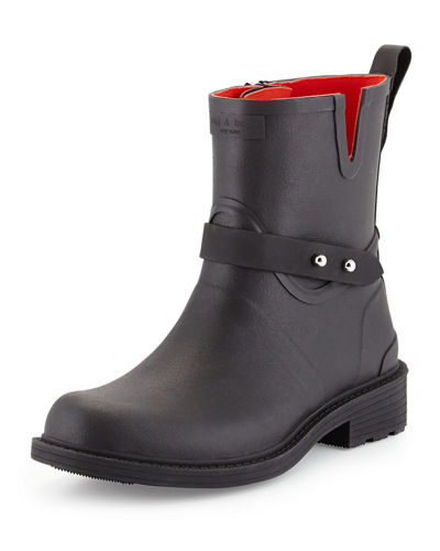 Rag & Bone Moto Rubber Rain Boot