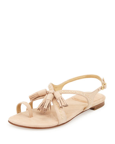 Stuart Weitzman Suede Fringe-Trimmed Sandals Release Dates For Sale Free Shipping Best Wholesale BJ7NWishh