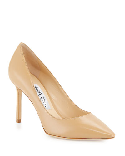 a86e12c07d Romy 85mm Kid Leather Pump Quick Look. Jimmy Choo