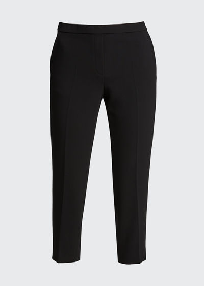Treeca Cropped Pull-On Pants