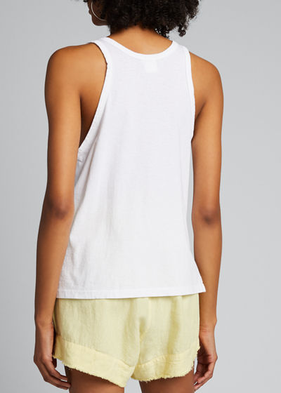 Slouchy Athletic Tank