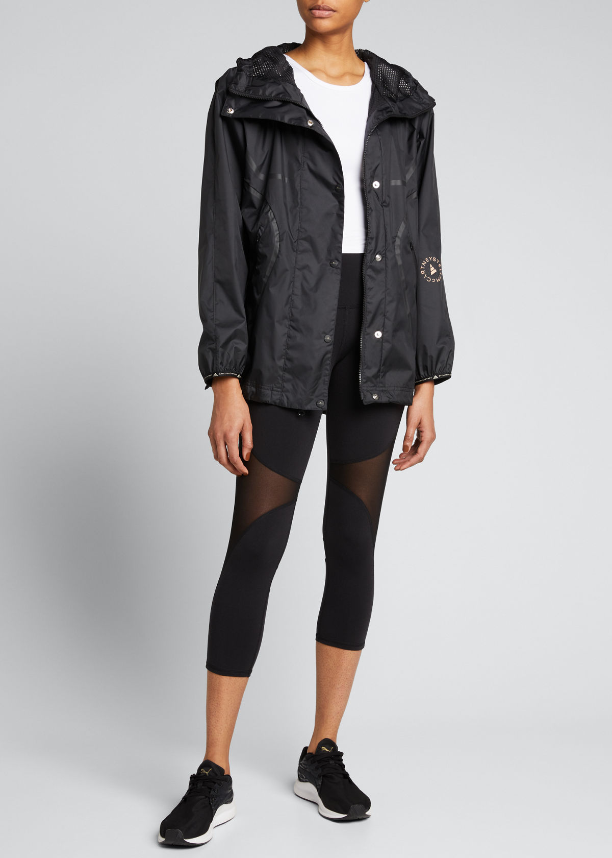 Adidas By Stella Mccartney TRUE PACE RUN JACKET