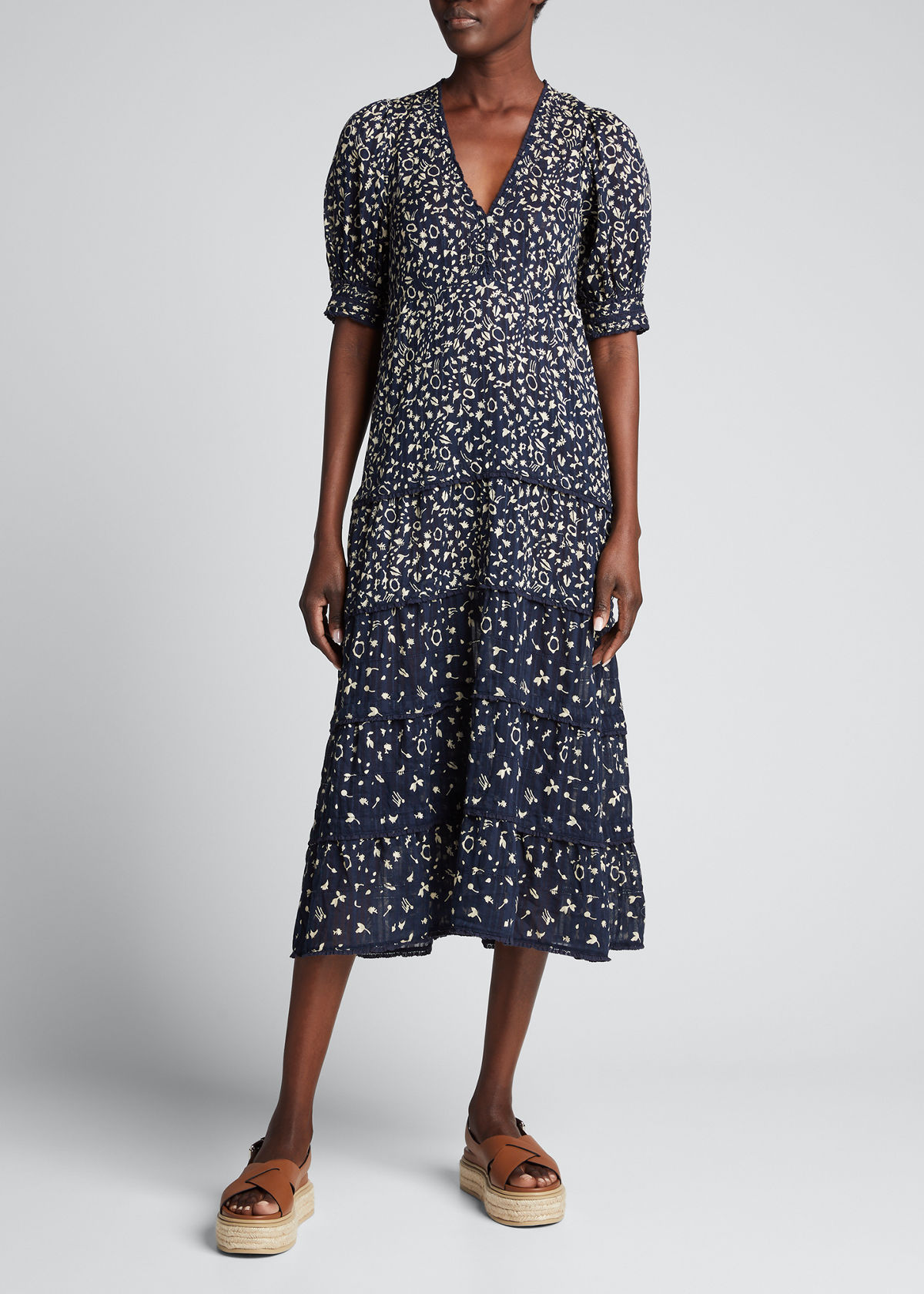 The Great Dresses THE YONDER MIDI DRESS