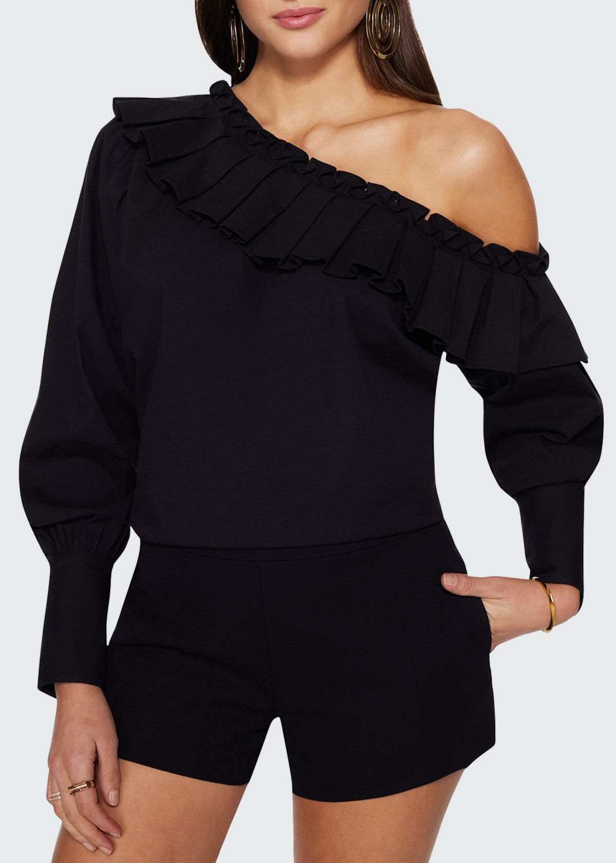 Ramy Brook TRIXIE OFF-THE-SHOULDER TOP