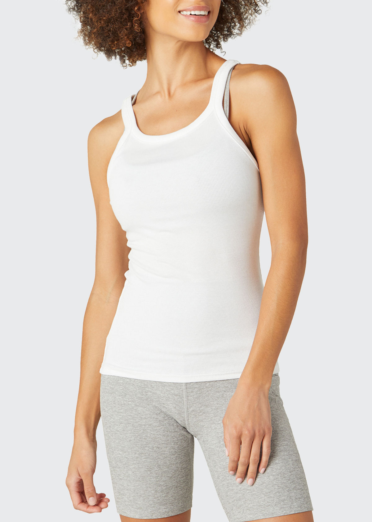 Beyond Yoga Cottons EVERYDAY RIBBED TANK TOP