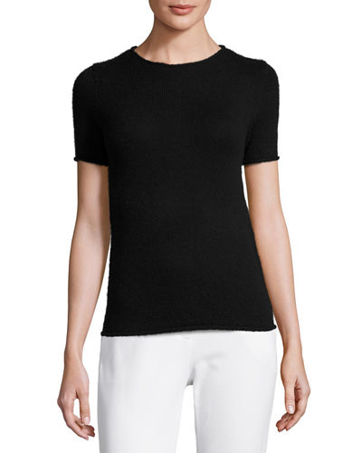 Theory short sleeve sweater Big Discount Online Buy Sale Best Place Sale Finishline Discount With Credit Card 8b7jJXL