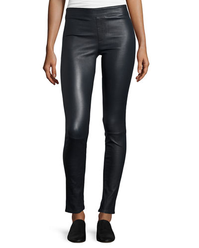 Lamb Leather Leggings