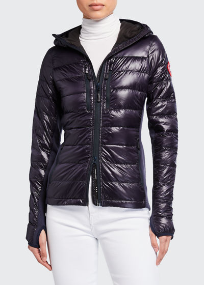 Sweety Boys Elbow Patch Detail Quilted Zipped Fur Lined Hood Slim Down Jacket