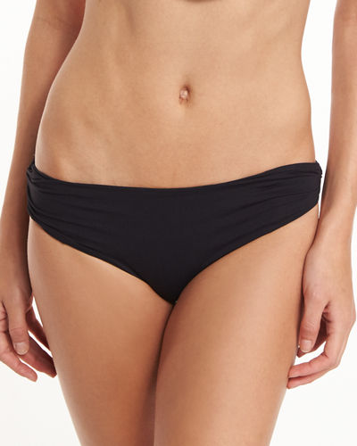 Venice Twisted-Side Swim Bikini Bottom