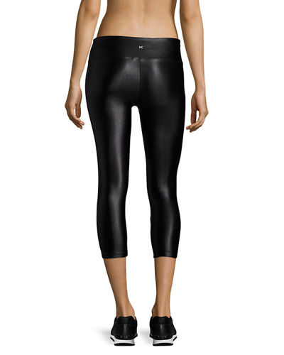 Lustrous Capri Athletic Leggings