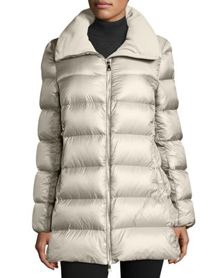 Torcyn Quilted Wool-Lined Puffer Coat Moncler