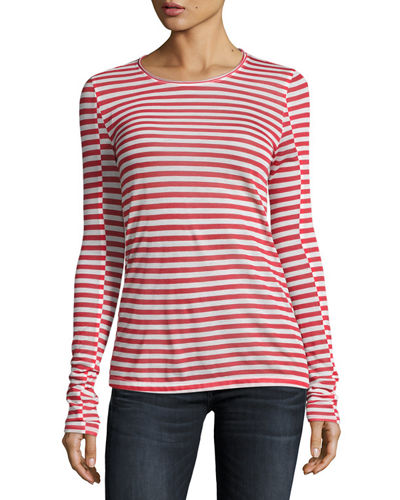 Finishline Cheap Price Rag & Bone Striped Long Sleeve Top Cheap Sale From China koBoh