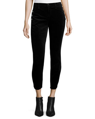Zion Mid Rise Cropped Jeans J Brand