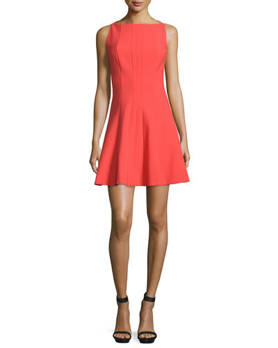 Hollis Sleeveless Fit-and-Flare Dress