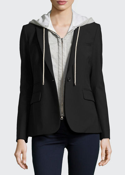 Veronica Beard Classic Crepe Jacket