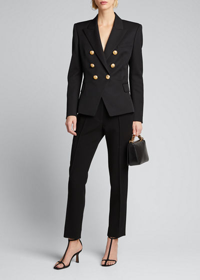 Classic Double-Breasted Blazer