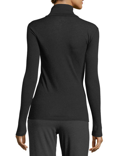 Cashmere Turtleneck Top