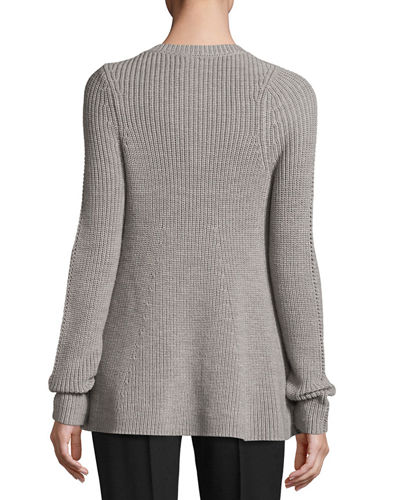 Wool Sweater - Gray Jason Wu Grey Outlet Free Shipping Authentic Cheap Sale 2018 Browse Online Discount Clearance Outlet Classic poucOJa