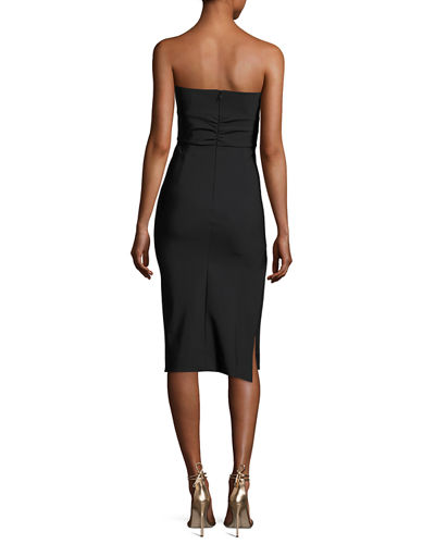 Mackenzie Strapless Sweetheart Cocktail Dress