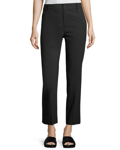 Vince Mid-Rise Straight-Leg Pants Many Kinds Of Sale Online nsHR8